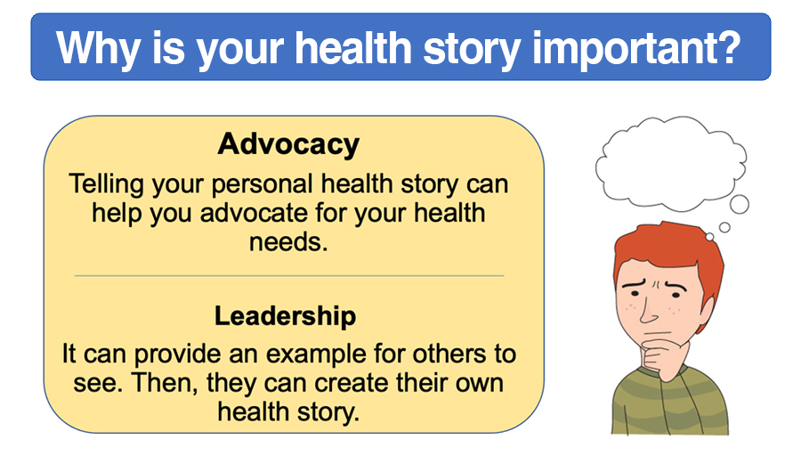 Module 2 - Why is your health story important?