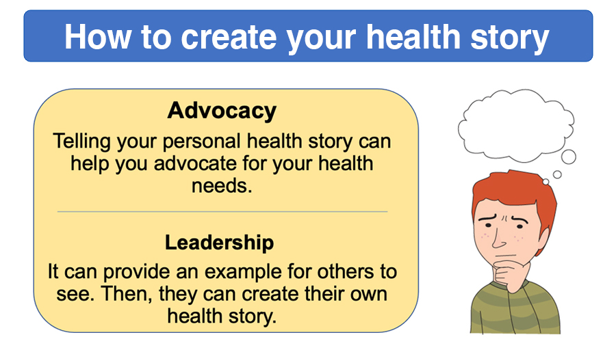 Module 2 - How to create your health story