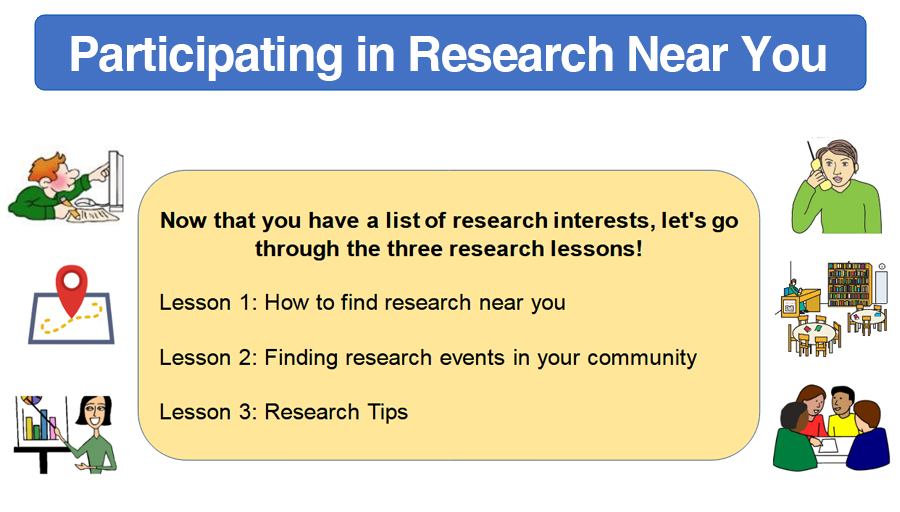 Participating in Research Near You