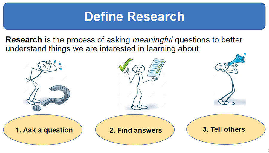 Module 1: What is health research?