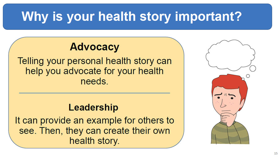 Module 2 - Why your health story is important