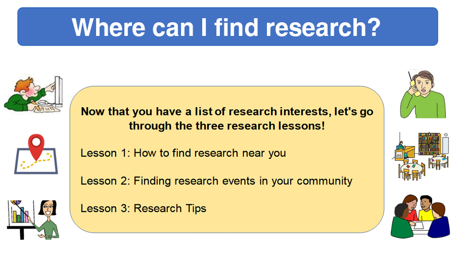 Where can I find research?